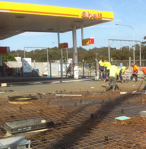 waffle pod concrete slab foundation