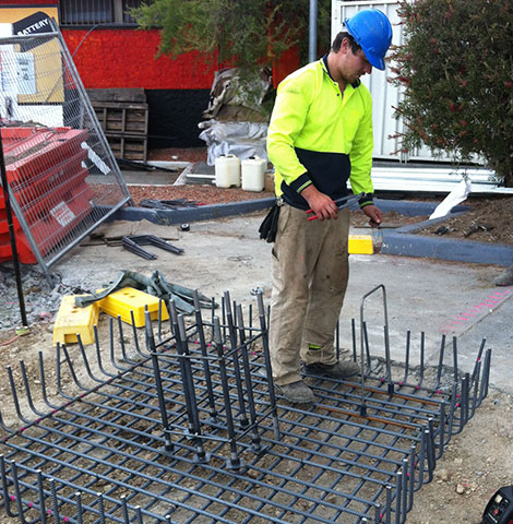 composite concrete slab